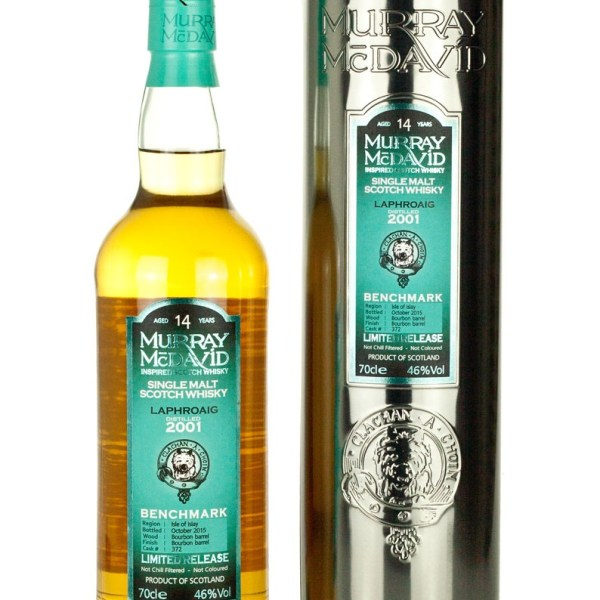 Laphroaig 14 Year Old 2001 Murray McDavid Benchmark