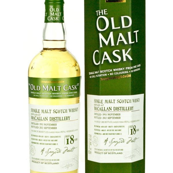 Macallan 18 Year Old 1993 Old Malt Cask
