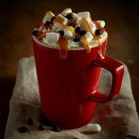 Royal Genware Latte Mug Red 12oz / 340ml (Case of 6)