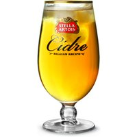 Stella Artois Cidre Chalice Pint Glasses CE 20oz / 568ml (Set of 4)