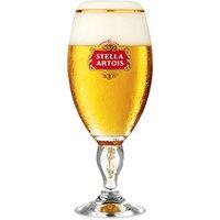 Stella Artois International Chalice Pint Glasses CE 20oz / 568ml (Set of 4)