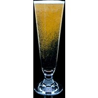Strahl Da Vinci Polycarbonate Footed Pilsner Glasses 14oz / 400ml (Case of 12)