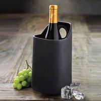 TerraVino Terracotta Wine Cooler Black (Case of 4)