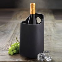 TerraVino Terracotta Wine Cooler Black (Case of 4)