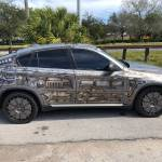 This Cyberpunk Bmw X6 Insists You Know It Was Airbrushed Not Wrapped Thank You Very Much