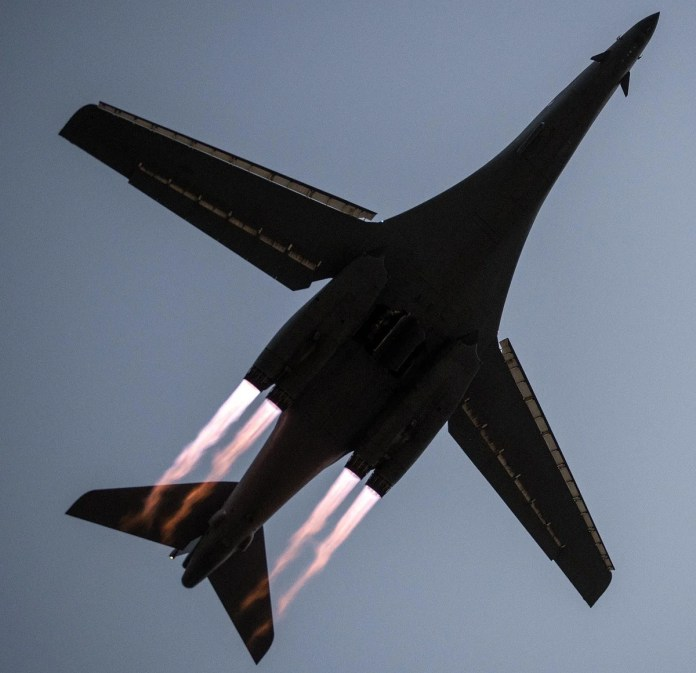 B-1Bs Start To Get Back In The Air After Fleet-Wide Grounding