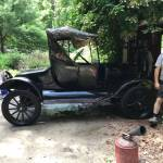 For Sale Unrestored 1924 Ford Model T Barn Find Discovered After 50 Years In Hiding