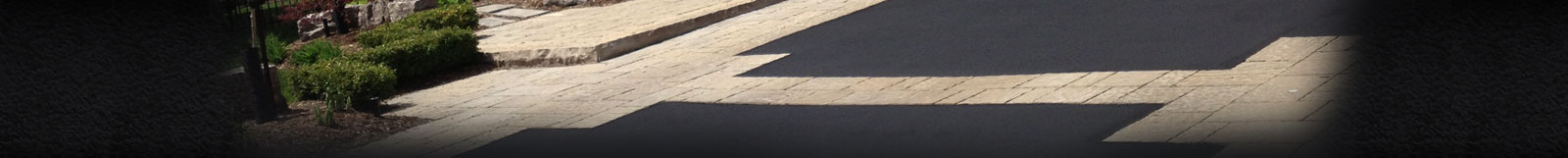 Asphalt and Interlock Driveway