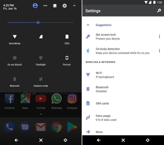 Reverie substratum theme