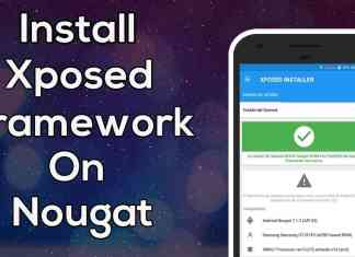 install xposed on nougat