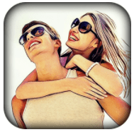 Cartoon photo filter effect for android