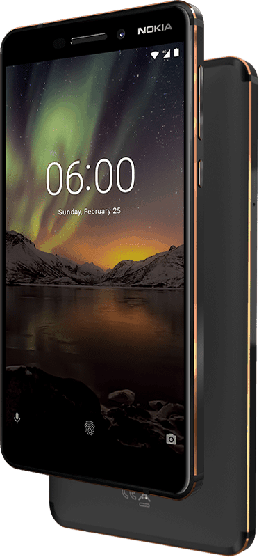 nokia 6 2018 design and build
