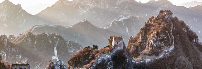 Jiankou Great Wall of China Intel drone Falcon 8+