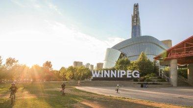 Winnipeg Western Drone Show Canada aerial