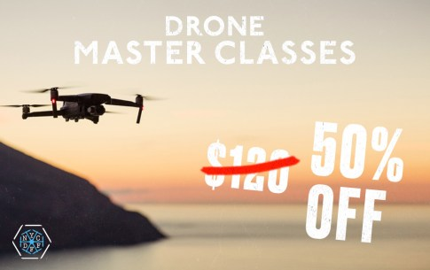 2020 Black Friday drone sale AirVuz NYCDFF discount 50% off $120