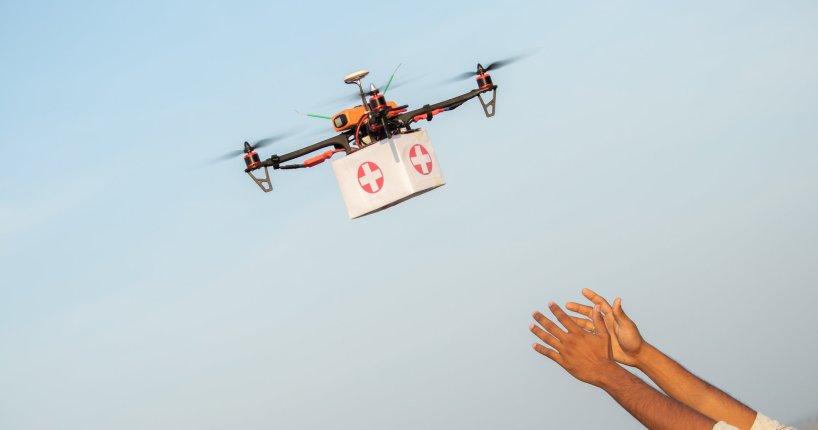 coronavirus help hurt drone industry
