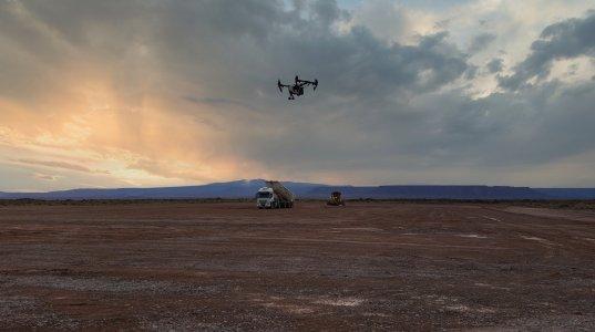 2021 drone tech DJI Inspire construction