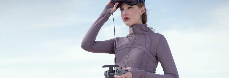 DJI FPV drone girl