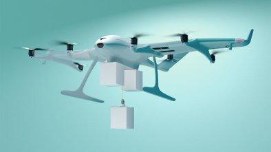 triple-drop delivery drone
