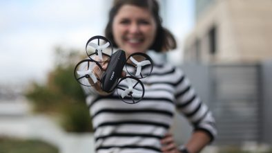 Sally French review drones tomzon flying pig uav quadcopter