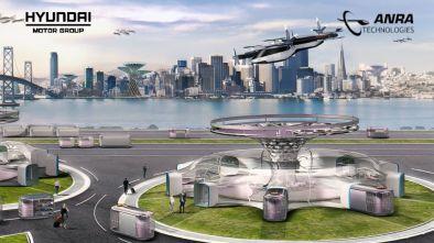 Hyundai ANRA uam drone