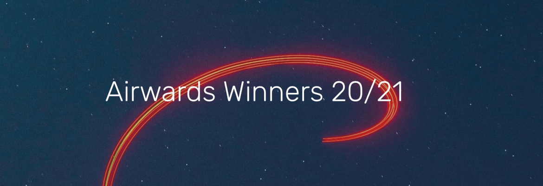Airwards 2021 2020 winners people's choice