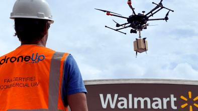 Bentonville, Arkansas Walmart DroneUp delivery drone
