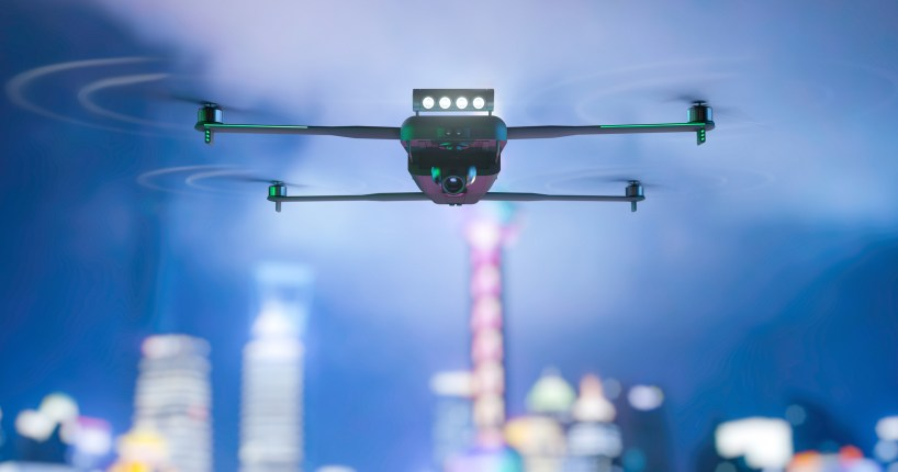 BVLOS Aviation Rulemaking Committee city drone