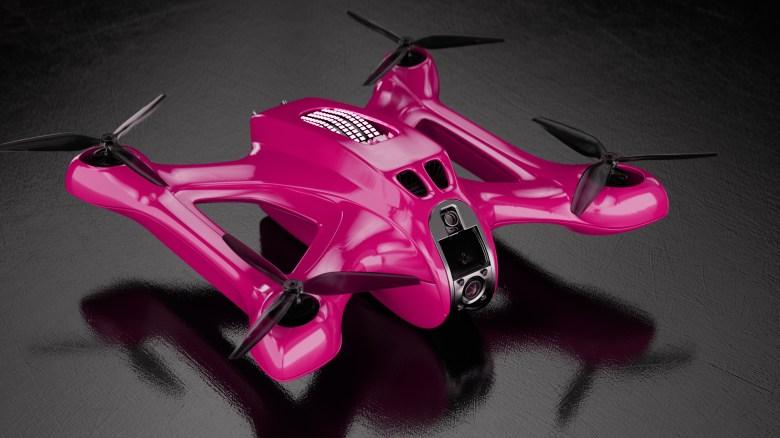 5G DRL racing drone Magenta