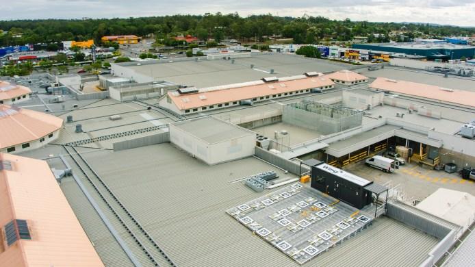 roof Grand Plaza Mall Logan Australia Wing drone delivery malls