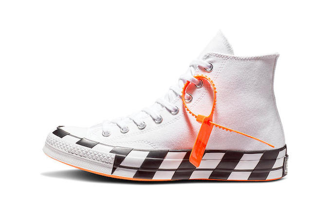This Converse X Off White Chuck 70 Is Landing Sooner Than