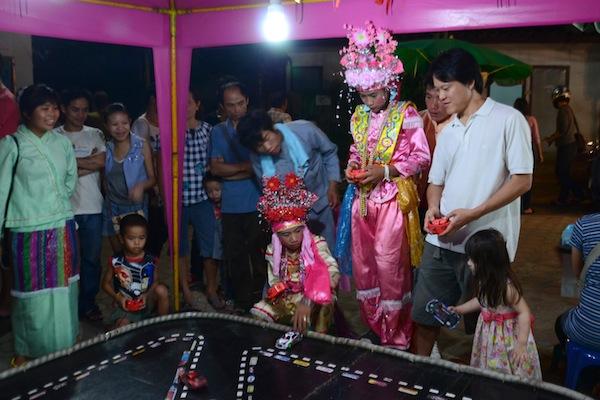 Sang Long Festival in Chiang Mai