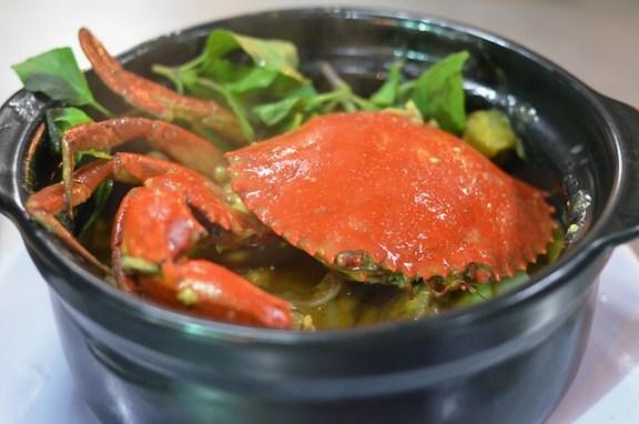 Vietnamese crab curry