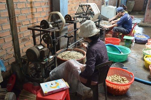 Dalat silk factory