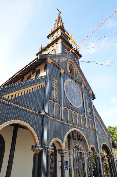 The Wooden Church in Kon Tum