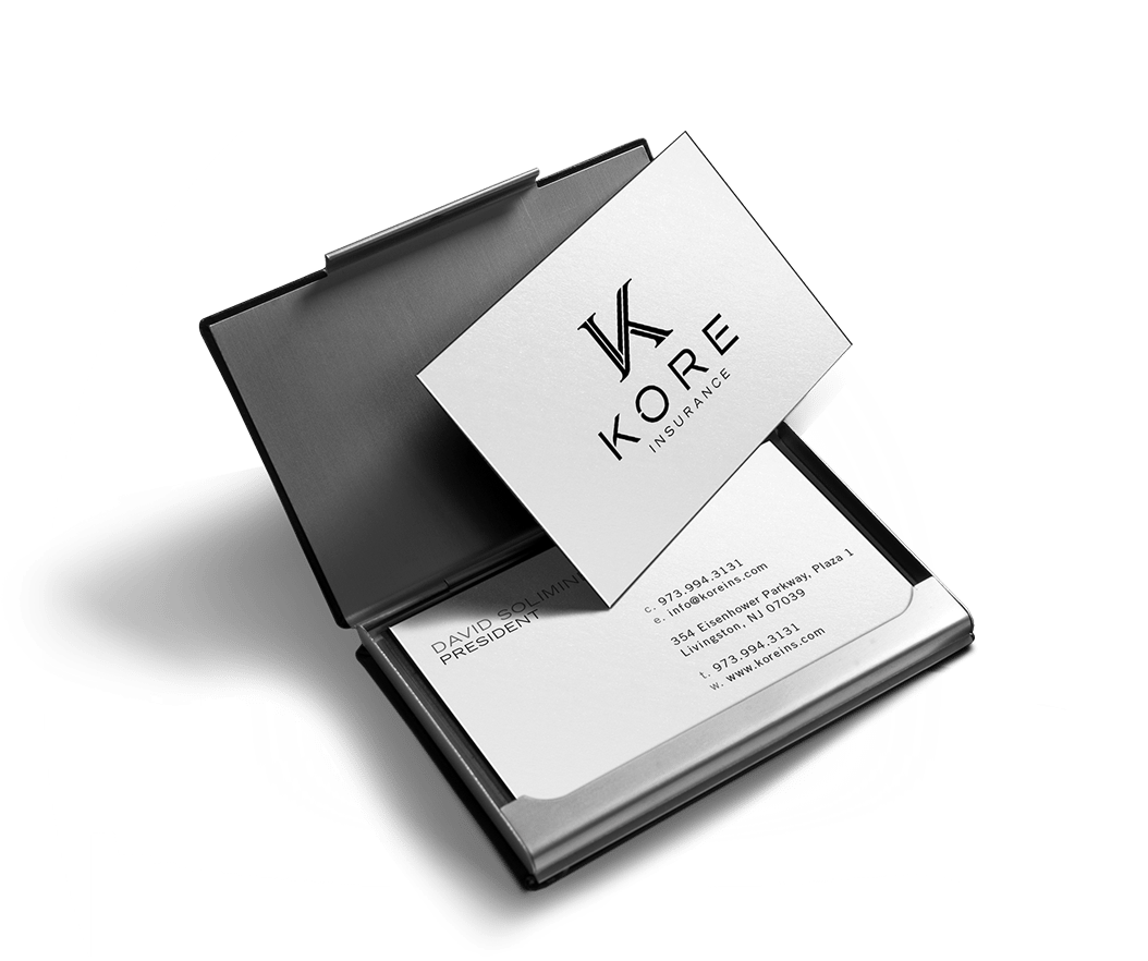 kore business cards