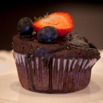 Vegan Double Chocolate Berry