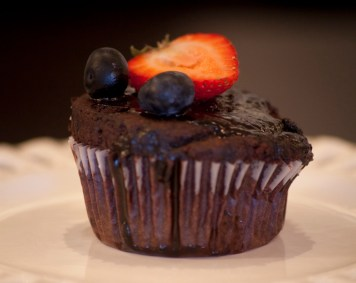 Vegan Double Chocolate Berry