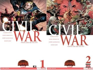 Guerra Civil (2015) - Guerras Secretas