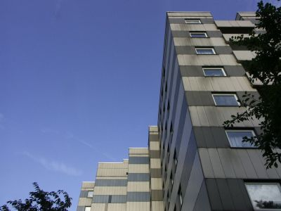 Minolta Dimage A1: A residential complex in West Germany