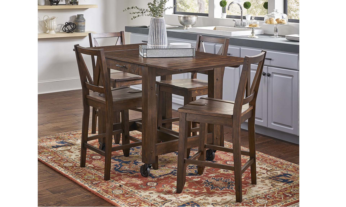 A America Aberdeen Brown 5 Piece Small Dining Set The Dump Luxe Furniture Outlet