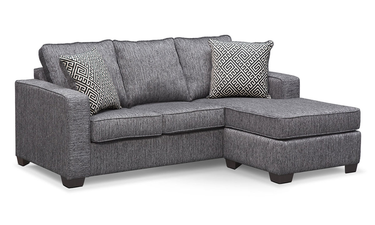 Minhas Sterling Queen Sleeper Sofa With Reversible Chaise