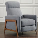 Mid Century Modern Pushback Recliner The Dump Luxe Furniture Outlet