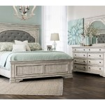 Highland Park White 5 Piece Upholstered Bedroom Sets The Dump Luxe Furniture Outlet