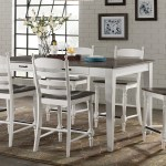 European Farmhouse Counter Height Dining Set The Dump Luxe Furniture Outlet