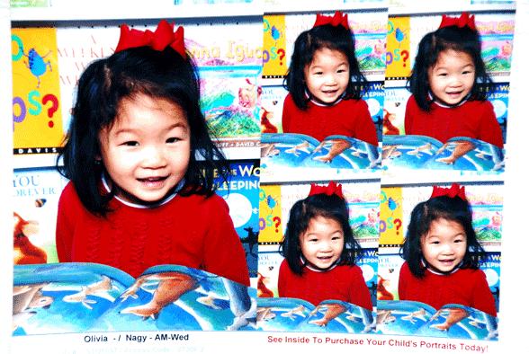 Olivia's Class Portrait