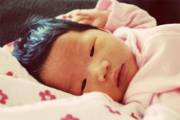Isabella 1 week old