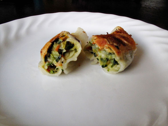Review: Trader Joe's Thai Vegetable Gyoza