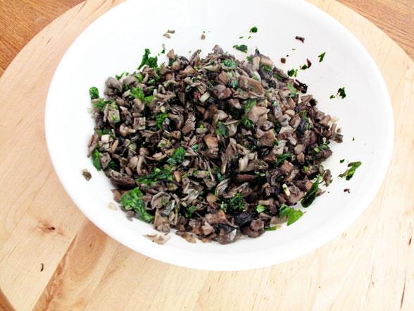 Mushroom Dumpling Recipe