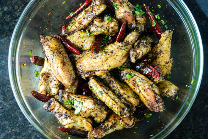 Lucky Rice Sichuanese Chicken Wings